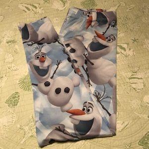 Disney Frozen Olaf Leggings